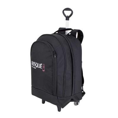 Roar Material Promocional - Mochila com carrinho grande. Mochila executiva com espaço para Laptop ideal para quem precisa levar bastante coisas para o trabalho. Compre direto da...