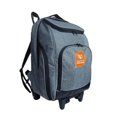 Roar Material Promocional - Mochila com carrinho tamanho médio. Mochila com espaço para laptop com vários bolsos para adequar as suas necessidades. Uma mochila versátil que você...