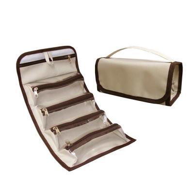 Roar Material Promocional - Necessaire média, com 5 bolsos. Ideal para você que gosta de organizar seus pertences.