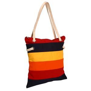 Roar Material Promocional - Bolsa sacola em lona colorida, com alça em algodão e fechada por zíper. Presenteie seu cliente com um brinde charmoso! Compre direto da fábrica.