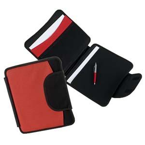 Roar Material Promocional - Bolsa com pasta seminário fechado por velcro com porta papel e caneta.