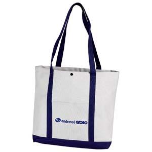 Roar Material Promocional - Sacola em tamanho médio fechada por botão, ideal para carregar suas compras! Compre direto da fábrica.