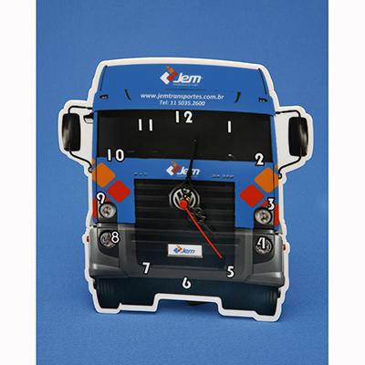AD Plastic - Relógio personalizado, em acrílico ou poliestireno, com recorte especial a laser e impressão digital UV