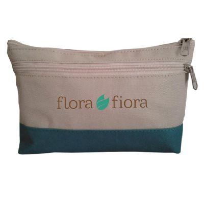 s-e-s-bolsas - Necessaire em nylon com bolso frontal