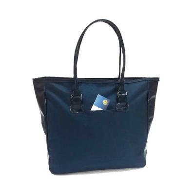 S & S Bolsas - Bolsa feminina em nylon e couro sintético
