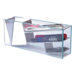 OZN Produz Presentes Corporativos - kit escritório com área para cartões, canetas, clips e outros.