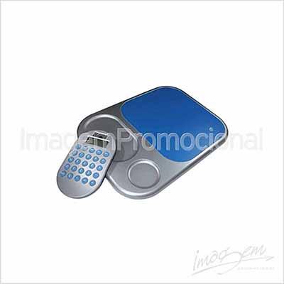 Imagem Promocional - Calculadora com mouse pad, Cores disponíveis: AZ / PT