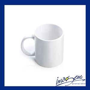 Imagem Promocional - Caneca de porcelana branca de 325 ml