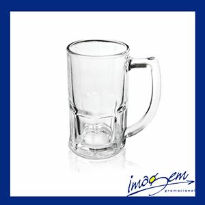 Imagem Promocional - Caneca de vidro transparente chopp 340ml