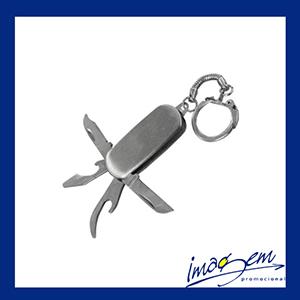 Imagem Promocional - Mini canivete em metal 4 funções
