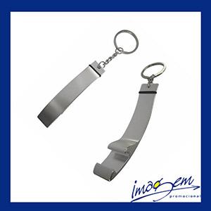 Imagem Promocional - Chaveiro abridor produzido em metal