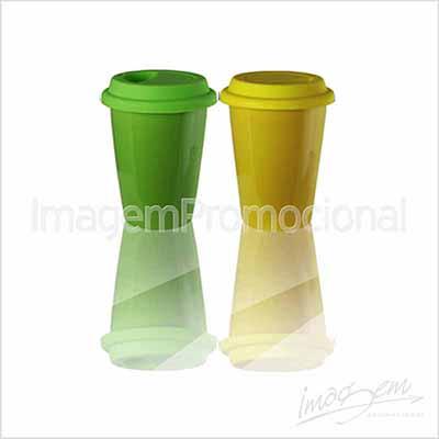 Imagem Promocional - Copo térmico de cerâmica 250 ml com cores a consultar.
