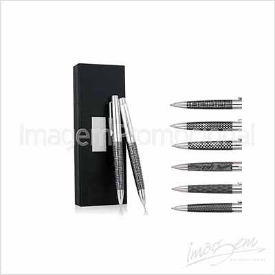 Imagem Promocional - Conjunto de caneta e lapiseira de metal