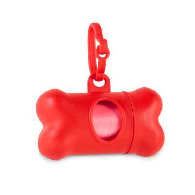 Imagem Promocional - PP. Contém 20 sacos em PE. Porta-saco: 82 x 48 x 41 mm Fechada: 111 x 21 x 15 mm.