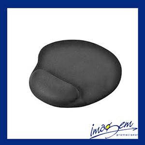 Imagem Promocional - Mouse pad preto com apoio