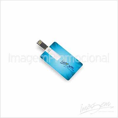 Imagem Promocional - Pen card de 4 gb com gravação UV frente e verso