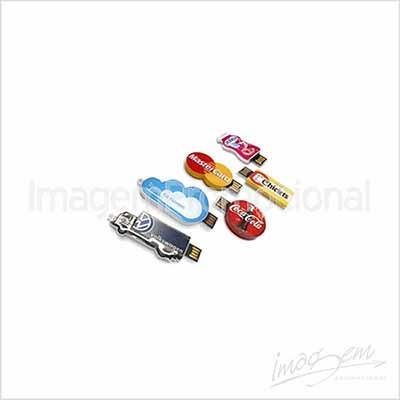 Imagem Promocional - Pen drive de 8gb de acrílico resinado