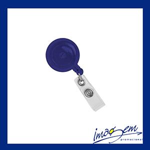 Imagem Promocional - Porta-crachá retangular azul