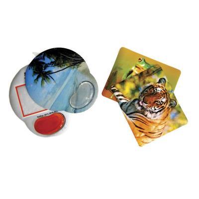 Eletroplast - Mouse pad em PVC (outras medidas, materiais e detalhes sob consulta).