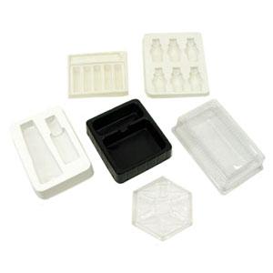 Eletroplast - Blisters diversos personalizados em PVC ou PS (outras medidas, materiais e detalhes sob consulta).