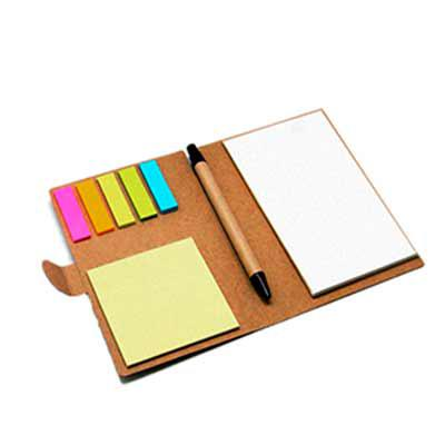 Classic Pen Brindes - Bloco com sticky notes