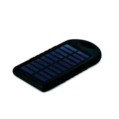 Classic Pen Brindes - Bateria portátil solar power bank personalizado