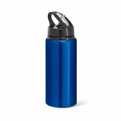 Classic Pen Brindes - Garrafa squeeze de alumínio azul