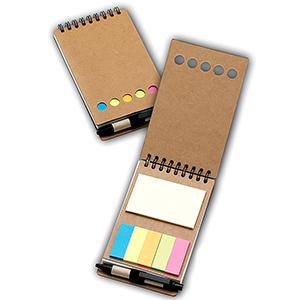 Classic Pen Brindes - Porta-recado com sticky-notes