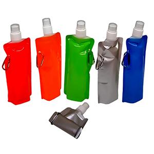 Classic Pen Brindes - Squeeze de plástico dobrável, capacidade para 500 ml