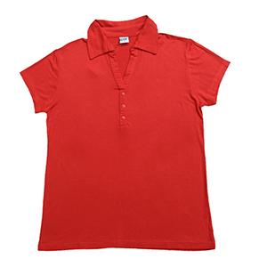 874126d94264c Camiseta pólo de viscose com decote V