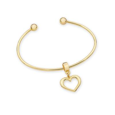 MKorn - Bracelete de Ouro com pingente