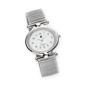 MKorn - Relógio de pulso, análogo com mecanismo quartz e pulseira de mola.