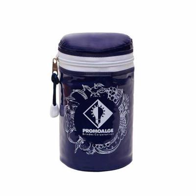 galeon-brindes-e-embalagens-promocionais - Yog bag - iogurteira térmica, produzida em pvc brilho 020mm color, espuma termica, ziper de nylon, cursor niquelado, cordão nylon, fecho plástico, 10x...