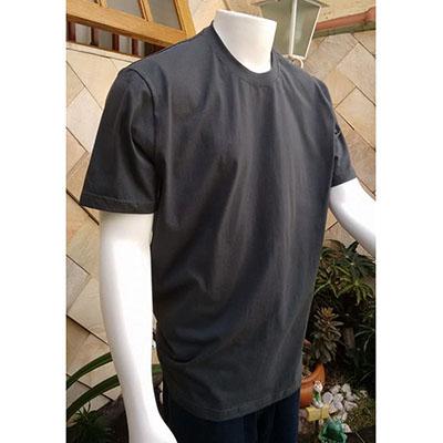 galeon-brindes-e-embalagens-promocionais - Camiseta masculina com gola careca em malha.