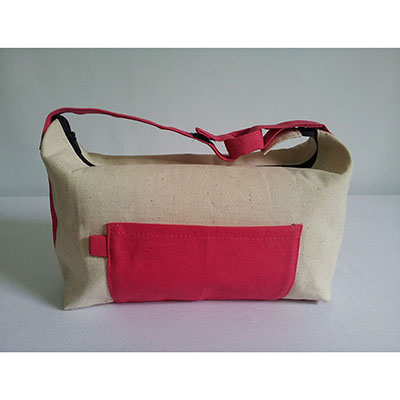 Galeon Brindes e Embalagens Promocionais - Necessaire rosa.