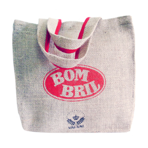 Galeon Brindes e Embalagens Promocionais - Sacola personalizada em juta natural