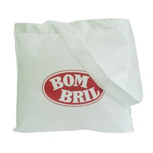 galeon-brindes-e-embalagens-promocionais - Sacola personalizada em TNT branco - Medidas: 40 x 39 cm, com alça única.
