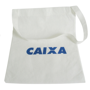 Galeon Brindes e Embalagens Promocionais - Sacola personalizada em TNT - Medidas: 33 x 40 cm, alça única e silk 1 cor.