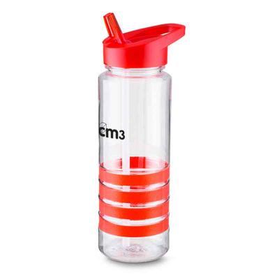 CM3 - Garrafa transparente 700 ml com alça