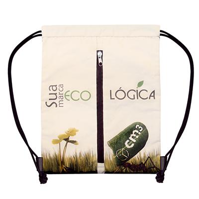 CM3 - Saco Mochila Barcelona.   Saco mochila resistente, prático para brindes, promoções, pesquisas, passeios e academias. Medidas em cm: L36,5/H45,0. Mater...