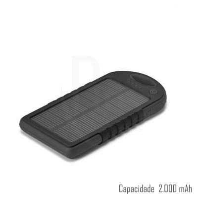 Plus Brindes - Power Bank Solar 371
