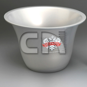 CN Acrilycs - Balde de acrílico personalizado.