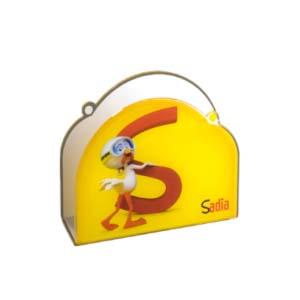 CN Acrilycs - Porta guardanapo personalizado em acrílico cristal.