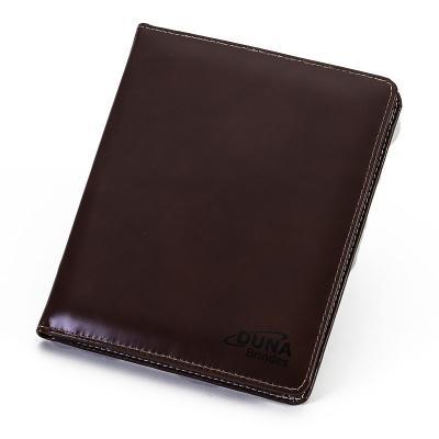 Duna Brindes - Pasta de convenção com porta-tablet, divisórias para papéis, porta-cartões, porta-caneta e porta-bloco de anotações, personalizada