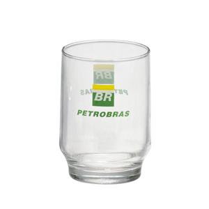 Dumont ABC Porcelanas Personalizadas - Copo personalizado em vidro para água - lights - 200 ml.
