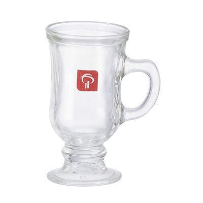 Dumont ABC Porcelanas Personalizadas - Caneca Capuccino Irish Coffee Vidro 100ml personalizada.