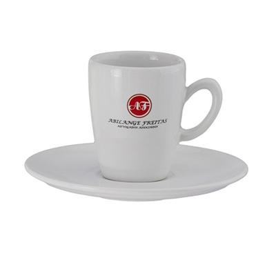 Dumont ABC Porcelanas Personalizadas - Xícara de café Genova expr.ox 75 ml.