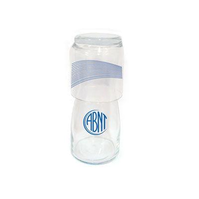 Dumont ABC Porcelanas Personalizadas - Moringa personalizada em vidro - 500 ml.