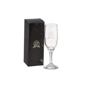 Dumont ABC Porcelanas Personalizadas - kit personalizado taça champanhe galante com embalagem.