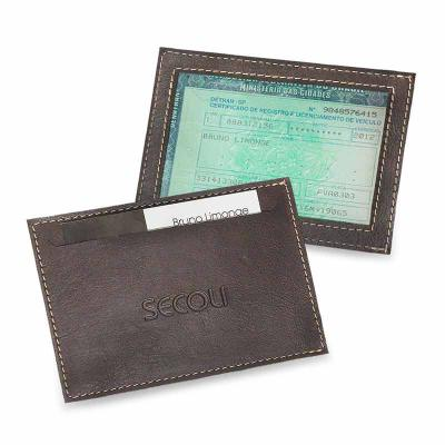 b0b5c2849 Secoli Brindes - Porta documento simples e prático